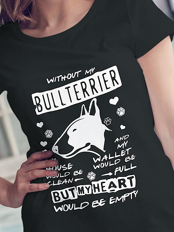 EMPTY HEART BULLTERRIER