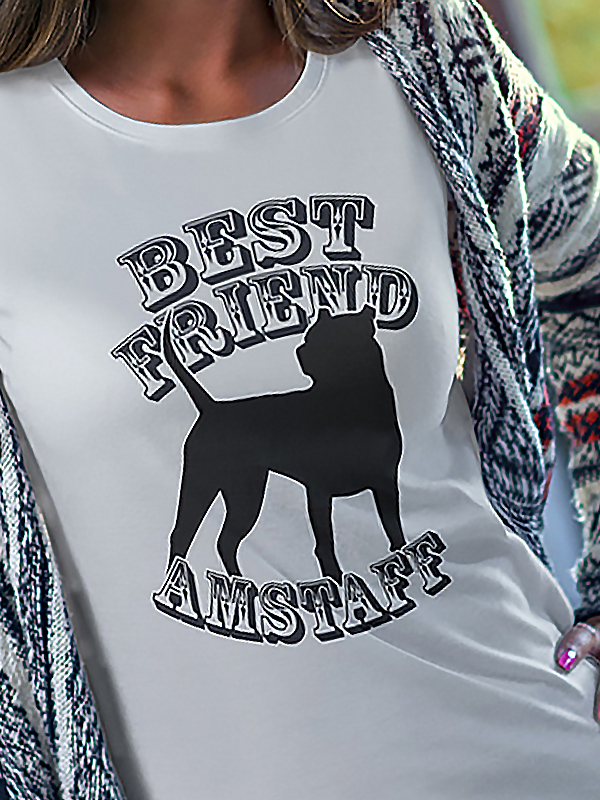BEST FRIEND AMSTAFF